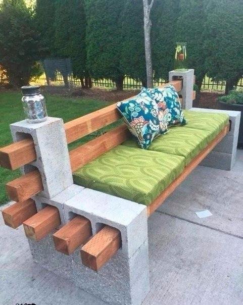 betonblokk kreatív újrahasznosítása
