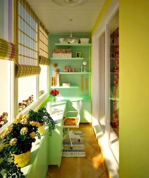 Beépített erkély ötletek
