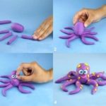 Egyszerű gyurmafigurák készítése gyerekkel