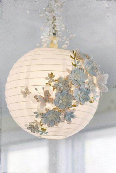Lámpa dekoráció házilag