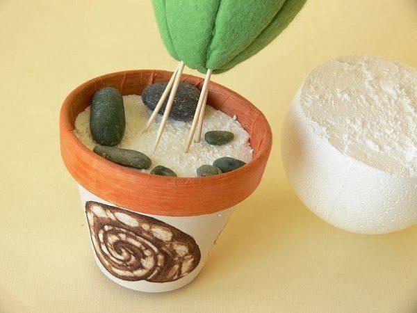 Kaktusz tűpárna