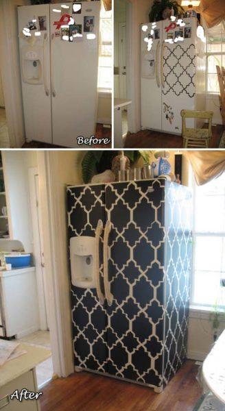 Lakásfelújító, bútorfelújító ötletek öntapadó fólia