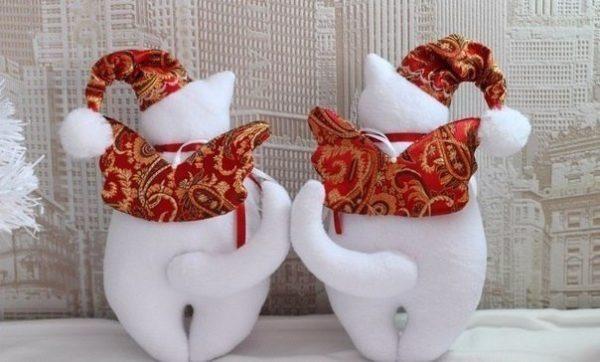 Karácsonyi cica angyalkák