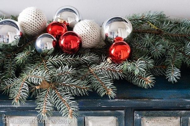 Kötött karácsonyi gömb