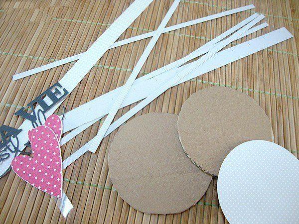 Papír kalitka készítése