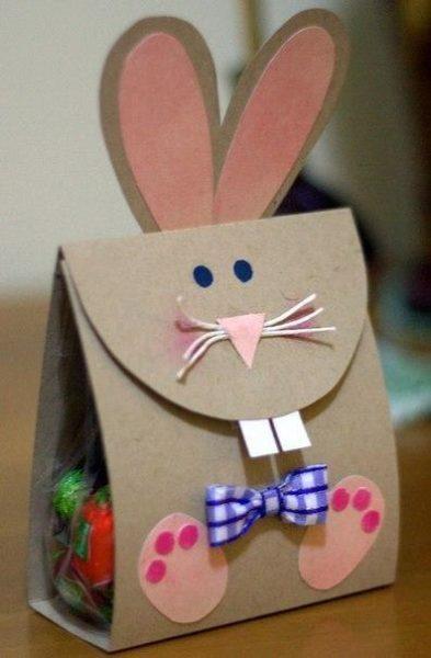 Húsvéti ajándék csomagolás