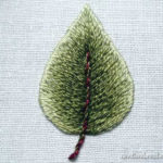 Hímzés technika: így kell tökéletesen szép levelet hímezni