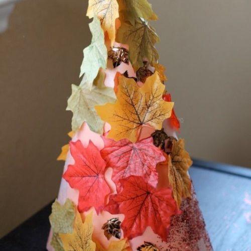 őszi dekoráció készítése gyerekekkel