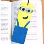 Minion-os könyvjelző készítése saját kezűleg