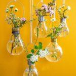 Kreatív újrahasznosítás: Villanykörte váza