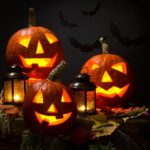 Halloween sablonok tök faragáshoz