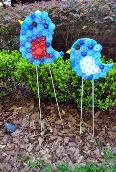 madár dekoráció