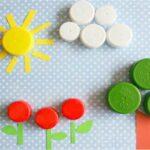 Kupakokból alkotni gyerekjáték (6 szuper ötlet óvodásoknak)