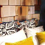 Lakásdekoráció könyvekkel