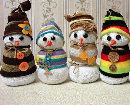 hóember zokniból