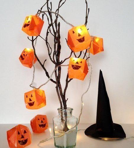Csináld magad Halloween lámpafüzér