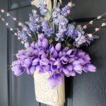 Tavaszi ajtódísz saját kezűleg