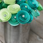 Papír rózsa készítés saját kezűleg: 4 egyszerű technika