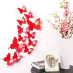 Pillangó dekoráció falra: inspirációk és segítség az elkészítésben