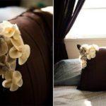 Filc virág dekoráció készítése