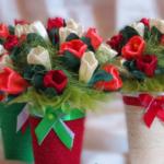 Virágok készítése szatén szalagból: ötletek, lépésről lépésre képsorozat, videó