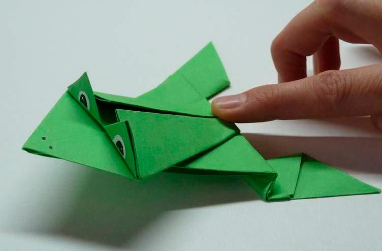 papír béka
