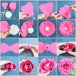 Ötlet gyűjtemény papír virágok készítéséhez